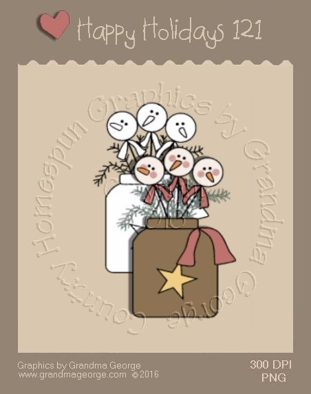 Happy Holidays Christmas Single Country Graphic 121