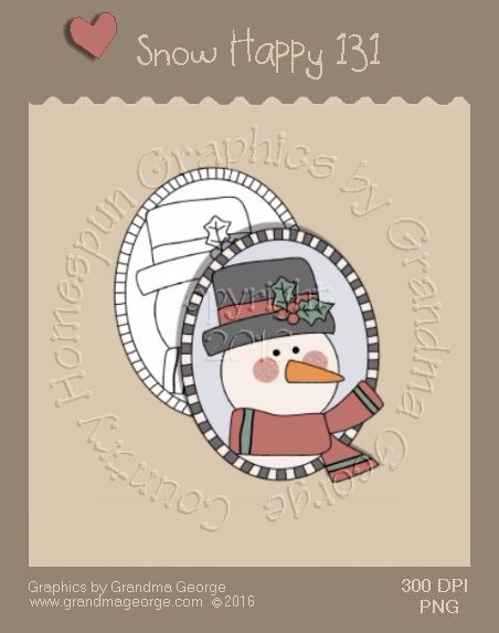 Snow Happy Single Country Graphic 131