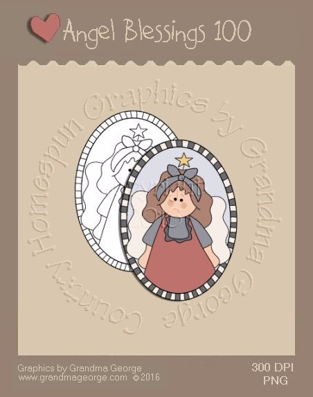 Angel Blessings Single Country Graphic 100