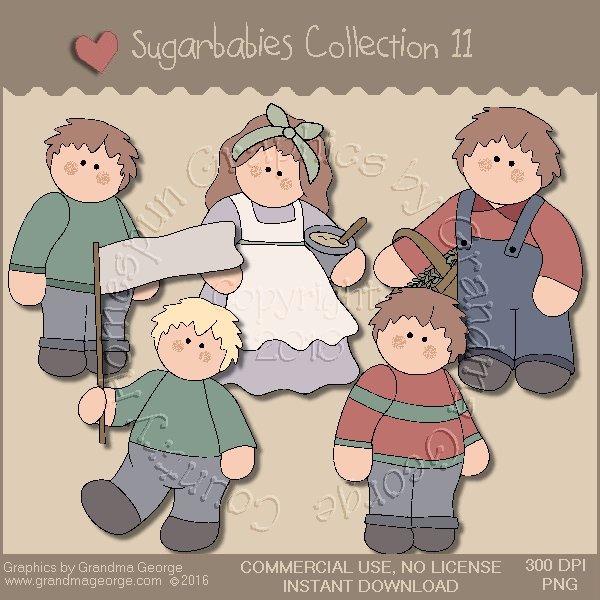 Sugarbabies Country Graphics Collection Vol. 11