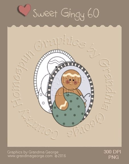 Sweet Gingy Single Country Graphic 60