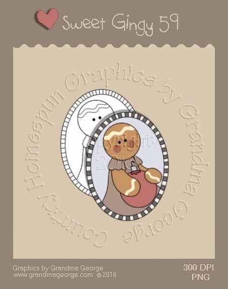 Sweet Gingy Single Country Graphic 59