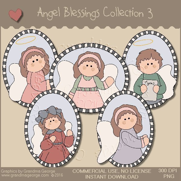 Angel Blessings Country Graphics Collection Vol. 3