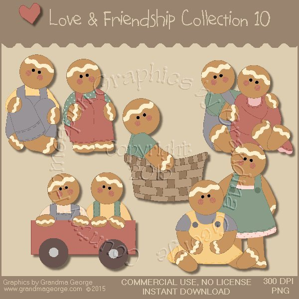 Love & Friendship Graphics Collection Vol. 10