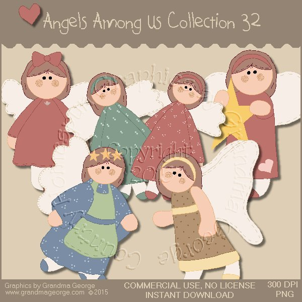 Angels Among Us Graphics Collection Vol. 32