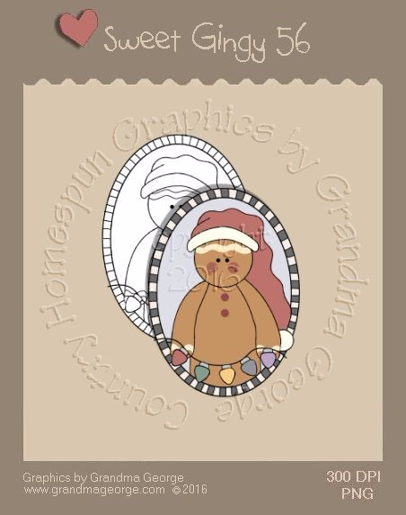 Sweet Gingy Single Country Graphic 56
