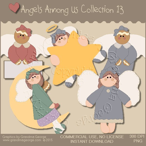 Angels Among Us Graphics Collection Vol. 13
