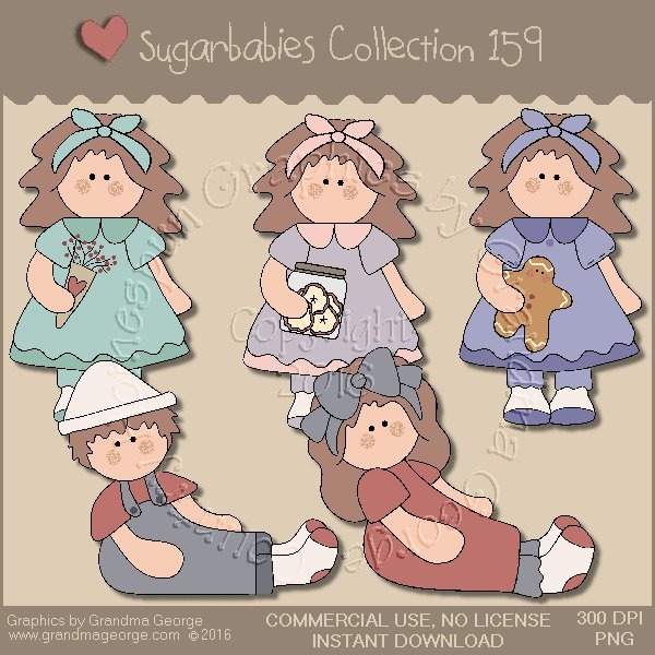 Sugarbabies Country Graphics Collection Vol. 159