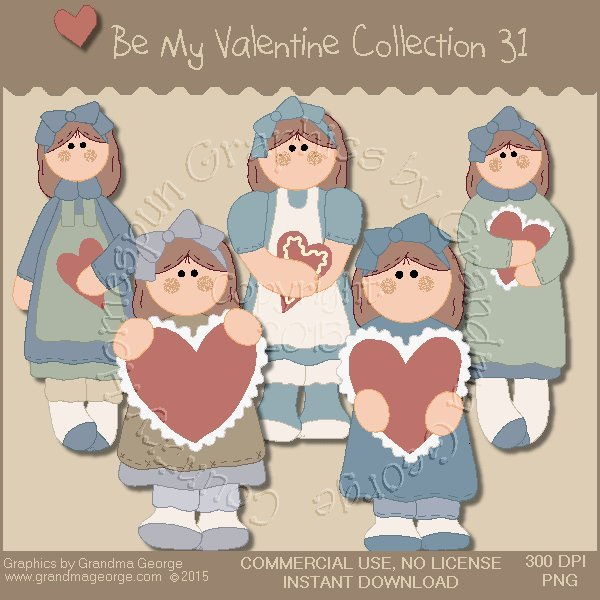Be My Valentine Graphics Collection Vol. 31