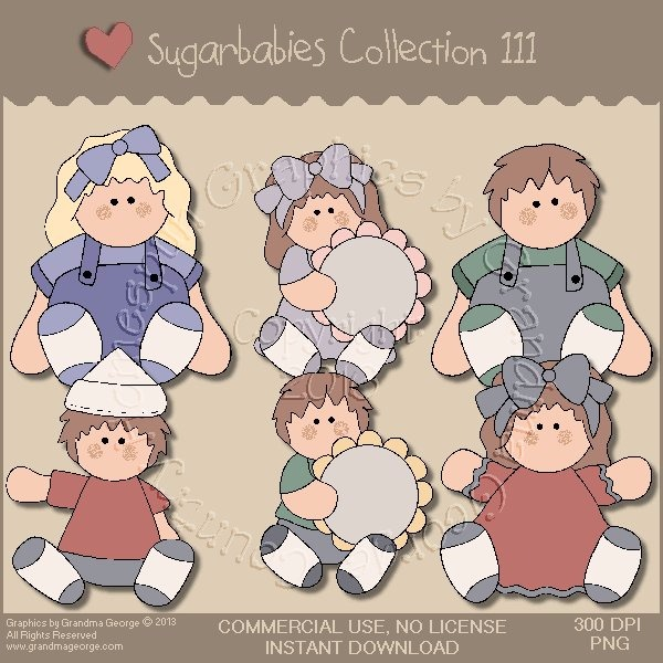 Sugarbabies Country Graphics Collection Vol. 111