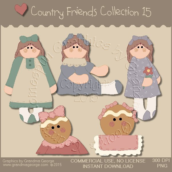 Country Friends Graphics Collection Vol. 15