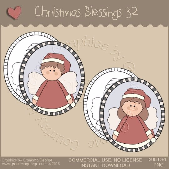 Christmas Blessings Single Country Graphic 32
