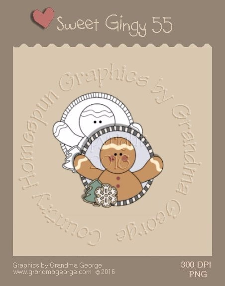 Sweet Gingy Single Country Graphic 55