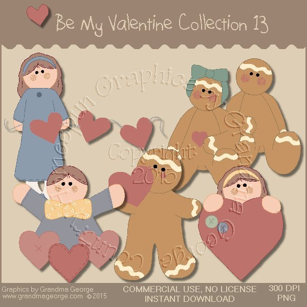 Be My Valentine Graphics Collection Vol. 13