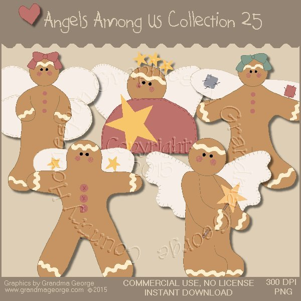 Angels Among Us Graphics Collection Vol. 25