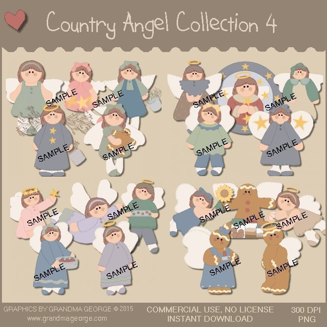 Country Angel Graphics Collection Vol. 4