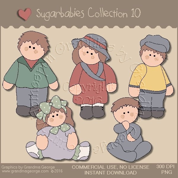 Sugarbabies Country Graphics Collection Vol. 10