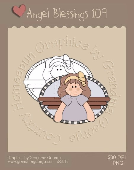 Angel Blessings Single Country Graphic 109