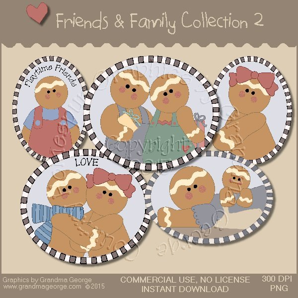 Friends & Family Graphics Collection Vol. 2