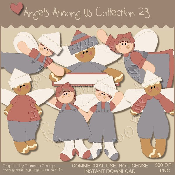 Angels Among Us Graphics Collection Vol. 23
