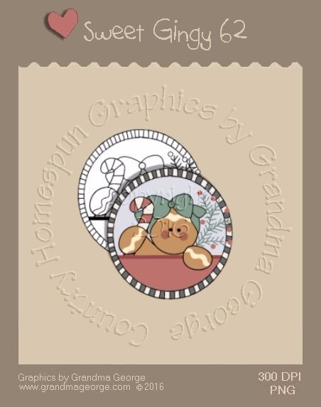 Sweet Gingy Single Country Graphic 62