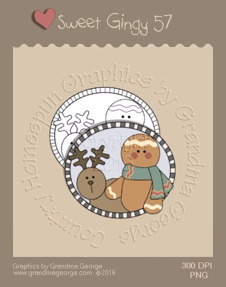 Sweet Gingy Single Country Graphic 57