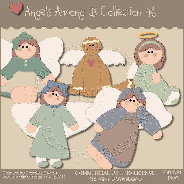 Angels Among Us Graphics Collection Vol. 46