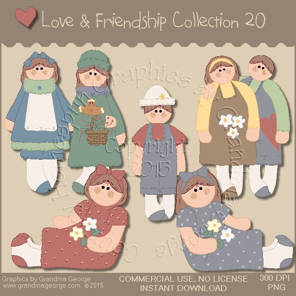 Love & Friendship Graphics Collection Vol. 20