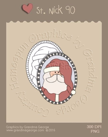 St. Nick Single Country Graphic 90