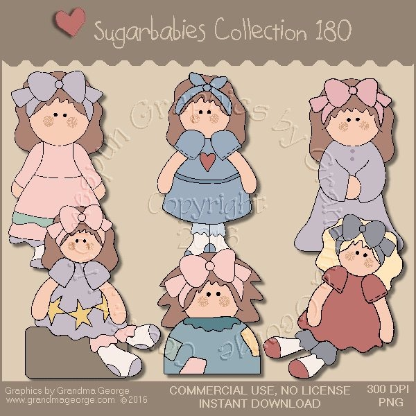 Sugarbabies Country Graphics Collection Vol. 180