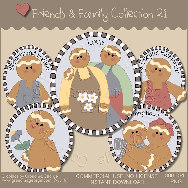 Friends & Family Graphics Collection Vol. 21