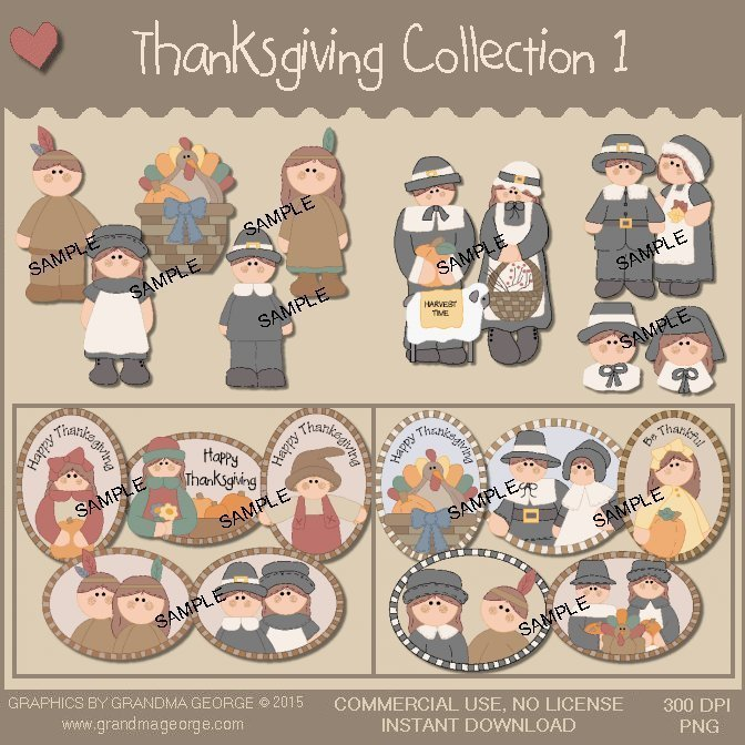 Thanksgiving Collection Vol. 1