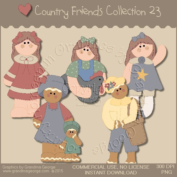 Country Friends Graphics Collection Vol. 23