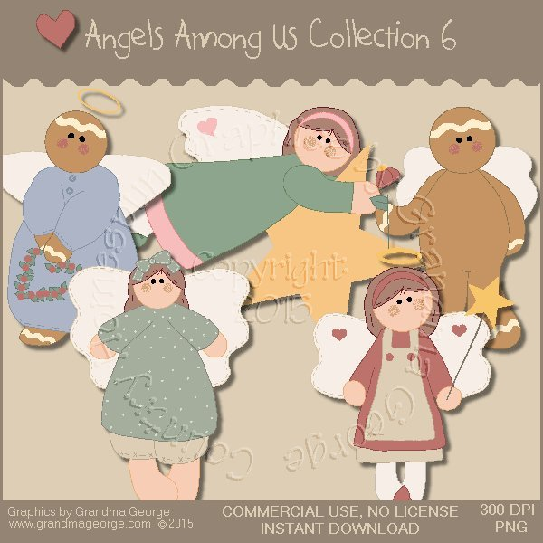 Angels Among Us Graphics Collection Vol. 6