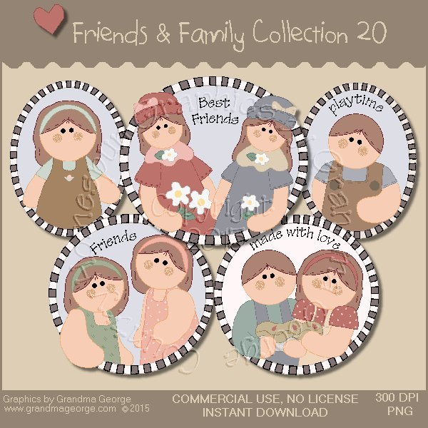 Friends & Family Graphics Collection Vol. 20