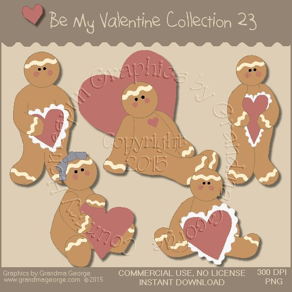 Be My Valentine Graphics Collection Vol. 23