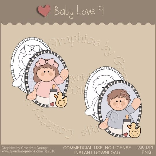 Baby Love Single Country Graphic 9