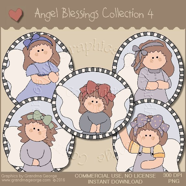 Angel Blessings Country Graphics Collection Vol. 4