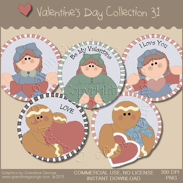 Valentine's Day Graphics Collection Vol. 31