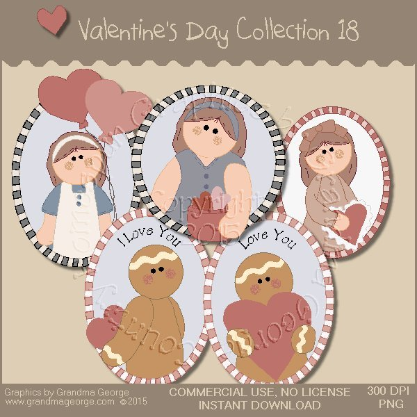 Valentine's Day Graphics Collection Vol. 18