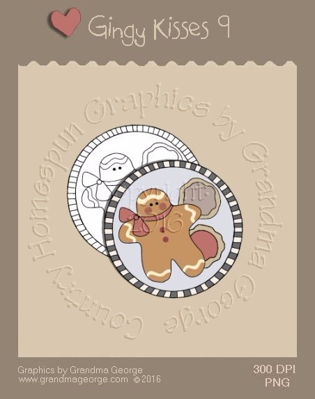 Gingy Kisses Single Country Graphic 9