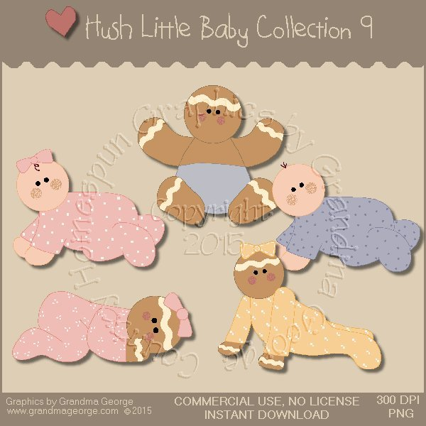 Hush Little Baby Graphics Collection Vol. 9