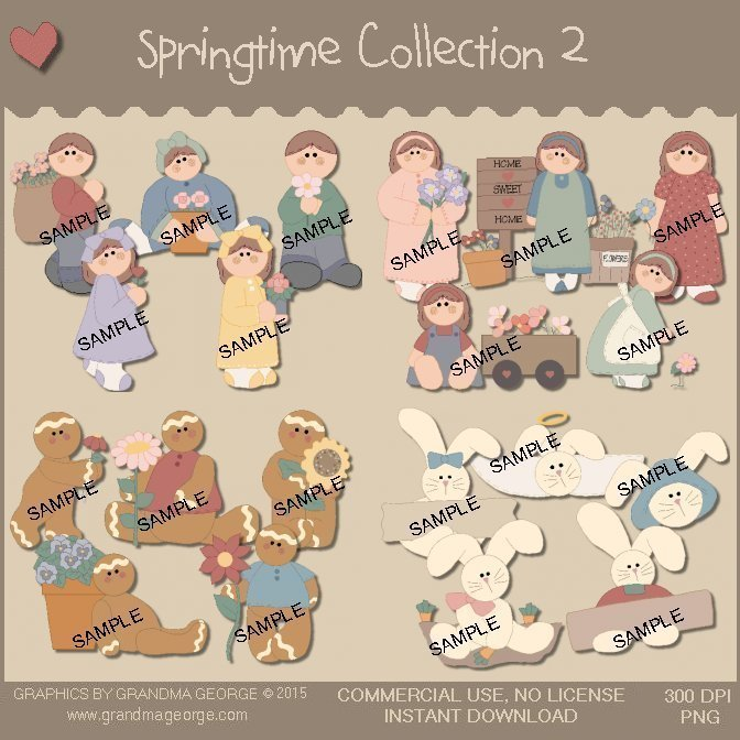 Springtime Graphics Collection Vol. 2
