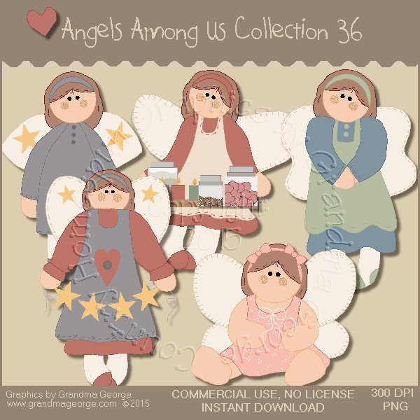 Angels Among Us Graphics Collection Vol. 36