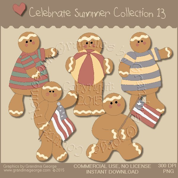 Celebrate Summer Country Graphics Collection Vol. 13