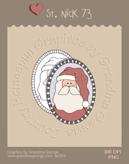 St. Nick Single Country Graphic 73