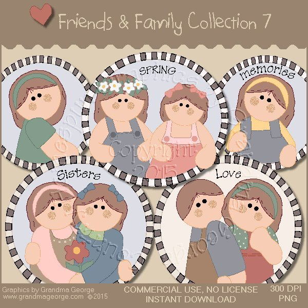 Friends & Family Graphics Collection Vol. 7