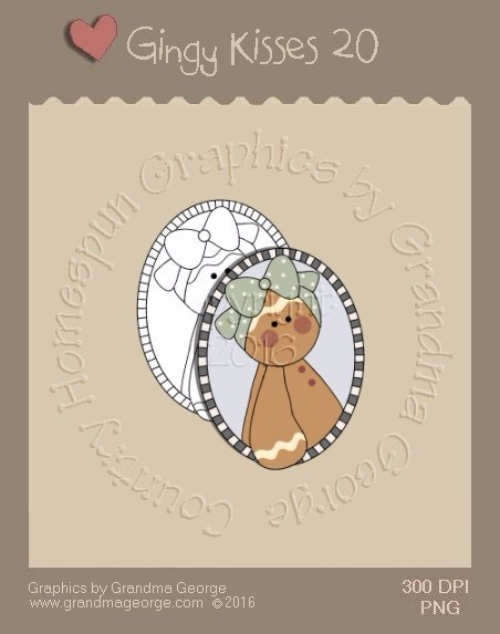 Gingy Kisses Single Country Graphic 20