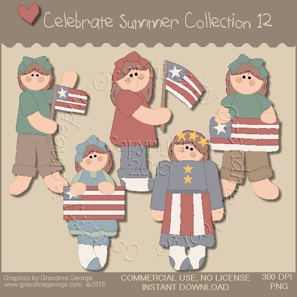 Celebrate Summer Country Graphics Collection Vol. 12