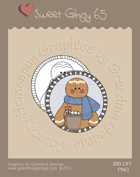 Sweet Gingy Single Country Graphic 65